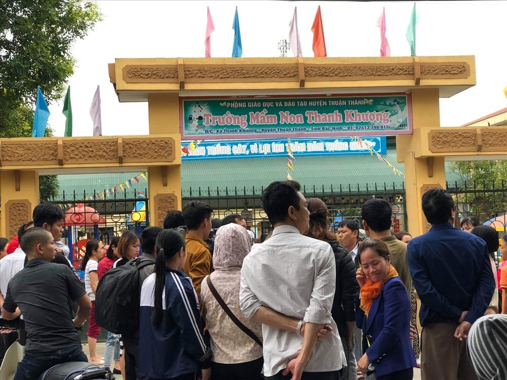Vụ trường mầm non Bắc Ninh bị tố dùng thịt nhiễm sán: Cơ sở còn cung cấp thực phẩm cho 18 trường khác - Ảnh 1