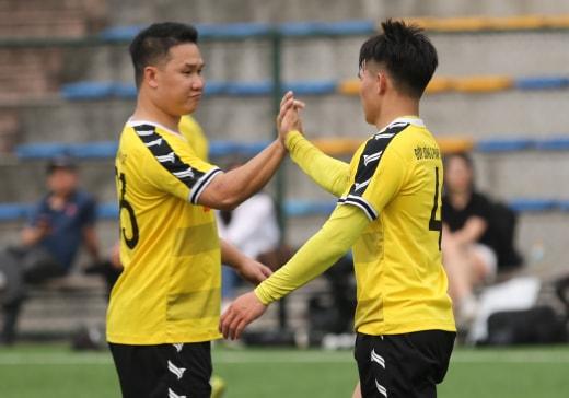 Giải bóng đá Báo NTNN/Dân Việt tranh Cúp Mùa Xuân 2019: Báo ĐS&PL vào tứ kết - Ảnh 4
