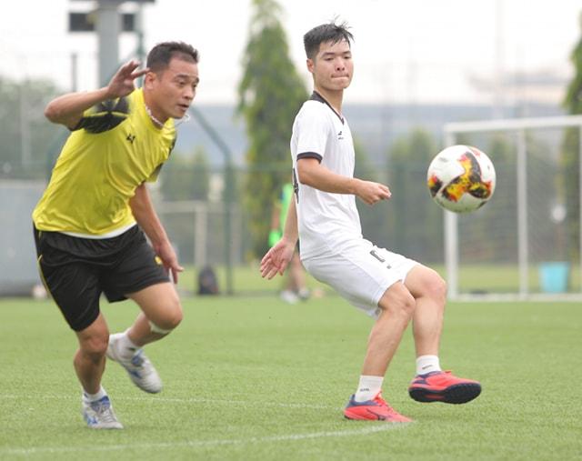 Giải bóng đá Báo NTNN/Dân Việt tranh Cúp Mùa Xuân 2019: Báo ĐS&PL vào tứ kết - Ảnh 1