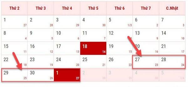 Dịp lễ 30/4 và 1/5 học sinh và người lao động được nghỉ bao nhiêu ngày? - Ảnh 1