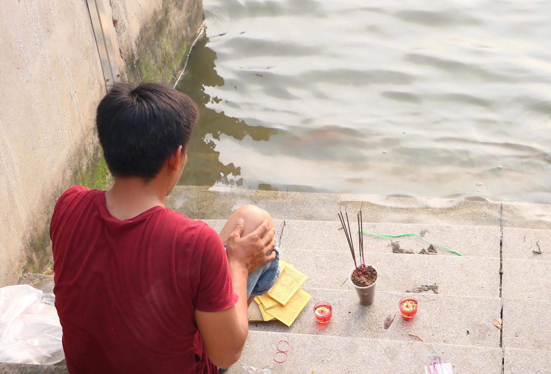 Tìm thấy thi thể nam thanh niên bơi ra sông bắt chim bị nước cuốn mất tích  - Ảnh 1