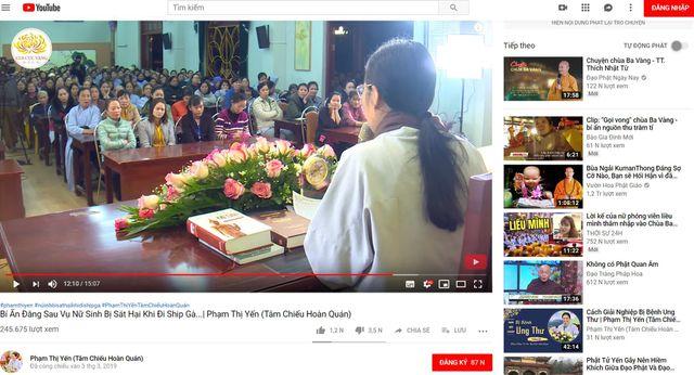 Facebook khóa tài khoản của bà Phạm Thị Yến - Ảnh 2