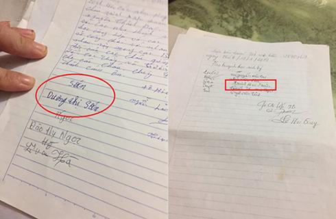 Xác minh thông tin biên bản phụ huynh đồng ý cho cô giáo phạt con quỳ ở Hà Nội bị làm giả chữ ký - Ảnh 2