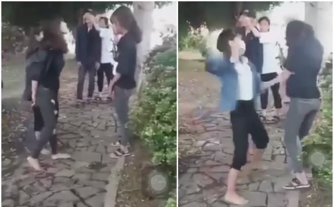 Sở GD-ĐT Quảng Bình chỉ đạo xử lý vụ nữ sinh bị đạp vào bụng, tát tới tấp vào mặt - Ảnh 2