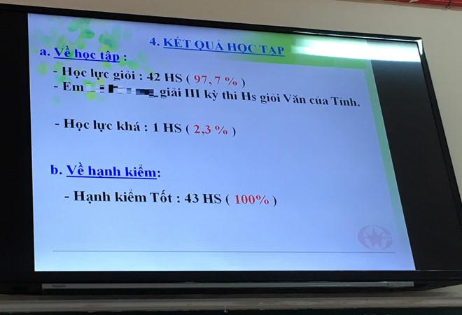 Vụ 42/43 học sinh một lớp là học sinh giỏi: Sở GD&ĐT tỉnh Bà Rịa - Vũng Tàu yêu cầu báo cáo - Ảnh 1