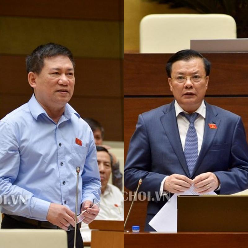 Vì chuyện truy thu thuế, Bộ trưởng Tài chính và Tổng Kiểm toán Nhà nước tranh cãi gay gắt - Ảnh 1