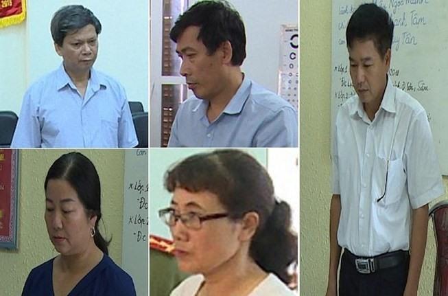 """Vụ gian lận thi cử ở Sơn La: Có trường hợp phải sửa 2 lần mới đủ điểm """"đặt hàng"""" - Ảnh 2"""