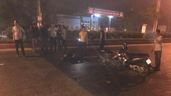 Khởi tố vụ án xe máy kẹp 3 tông chết Đại úy cảnh sát cơ động - Ảnh 1
