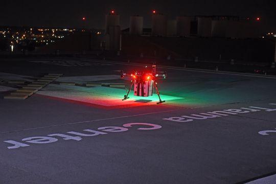 Lần đầu tiên Mỹ sử dụng drone chuyển nội tạng đi hơn 4km để cứu người - Ảnh 1