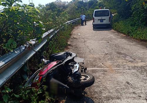 Nữ sinh viên tử vong thương tâm sau cú đâm vào taluy trên núi Sơn Trà - Ảnh 2