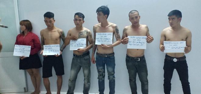 Nhóm thanh niên phê rượu, ma túy giả danh cảnh sát hình sự rồi hành hung công an - Ảnh 1