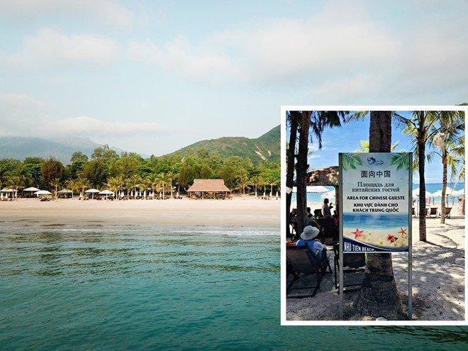 Khánh Hòa có bãi biển cho khách Trung Quốc - Sở Du lịch lên tiếng - Ảnh 1