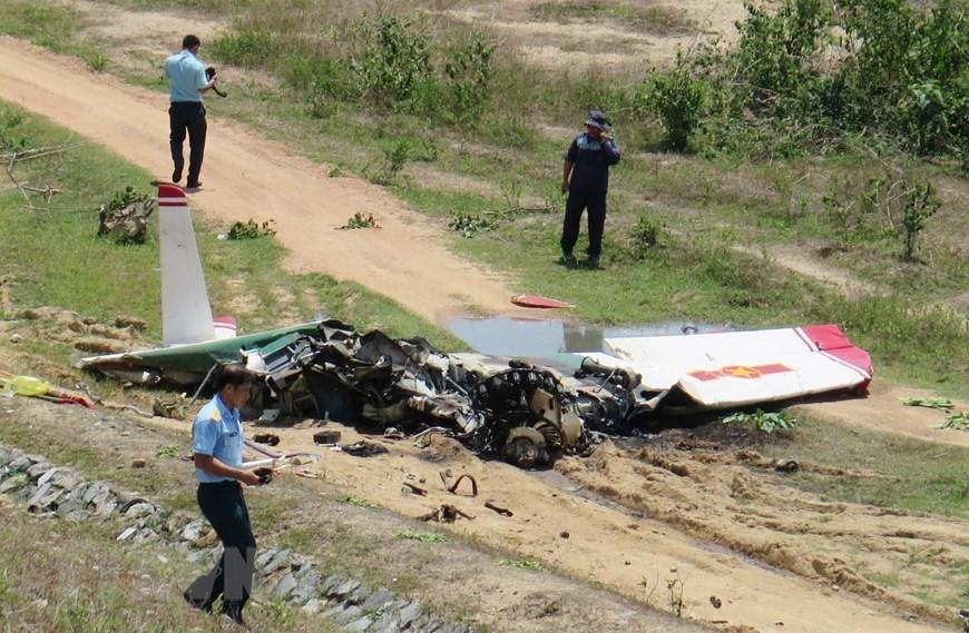 Ám ảnh hiện trường máy bay quân sự rơi ở Khánh Hòa khiến 2 phi công tử vong - Ảnh 2