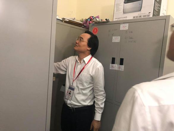 Bộ trưởng Phùng Xuân Nhạ: Phải bảo đảm đề thi, bài thi được bảo quản cẩn mật  - Ảnh 1