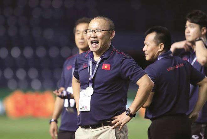 Thầy Park chưa vội gia hạn hợp đồng với VFF - Ảnh 1