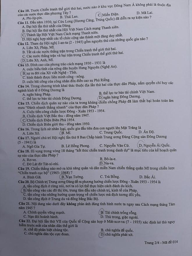 Thí sinh Hà Nội thở phào nhẹ nhõm vì đề thi Sử vừa sức, dễ đạt điểm 9,10 - Ảnh 3