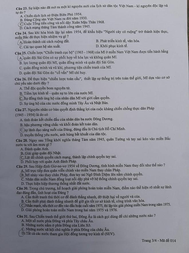 Thí sinh Hà Nội thở phào nhẹ nhõm vì đề thi Sử vừa sức, dễ đạt điểm 9,10 - Ảnh 4