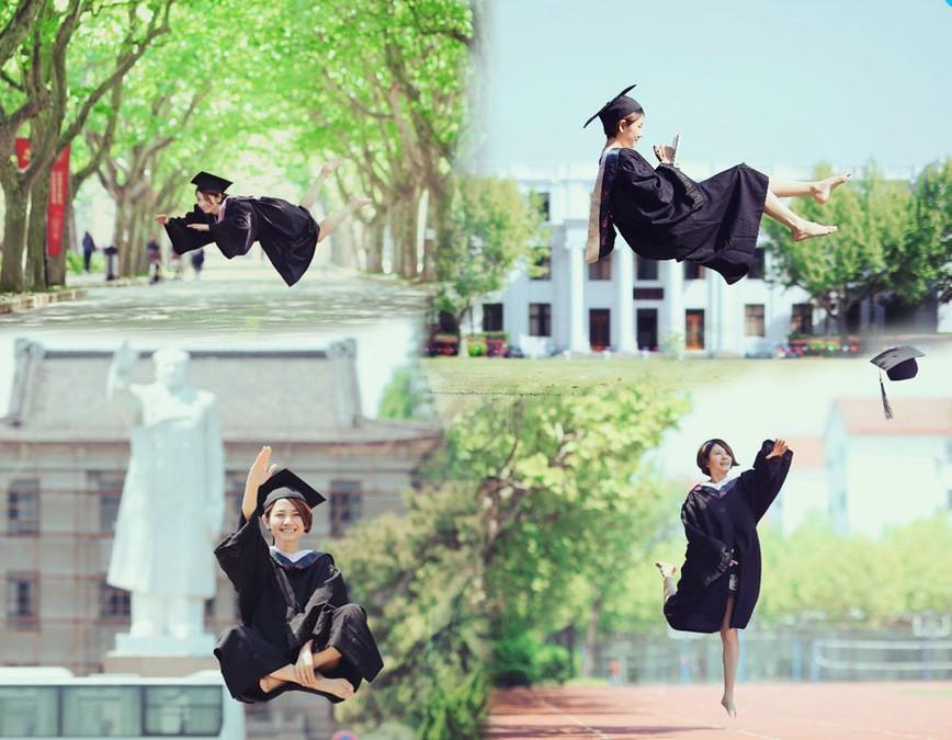 """Sinh viên Trung Quốc chụp ảnh kỷ yếu khoe chân dài miên man, da trắng bóc khiến dân mạng """"phát hờn"""" - Ảnh 8"""