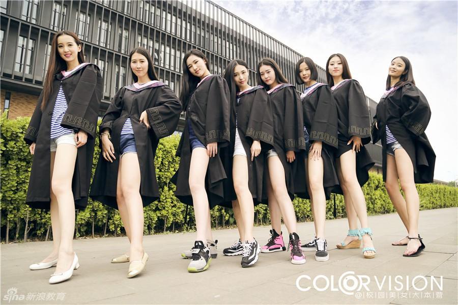 """Sinh viên Trung Quốc chụp ảnh kỷ yếu khoe chân dài miên man, da trắng bóc khiến dân mạng """"phát hờn"""" - Ảnh 9"""