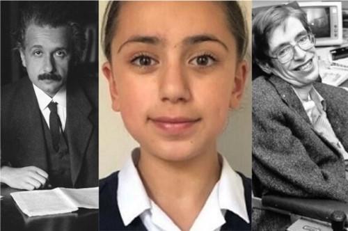 Gặp gỡ bé gái 11 tuổi có chỉ số IQ top đầu thế giới, cao hơn cả Einstein và Stephen Hawking - Ảnh 1