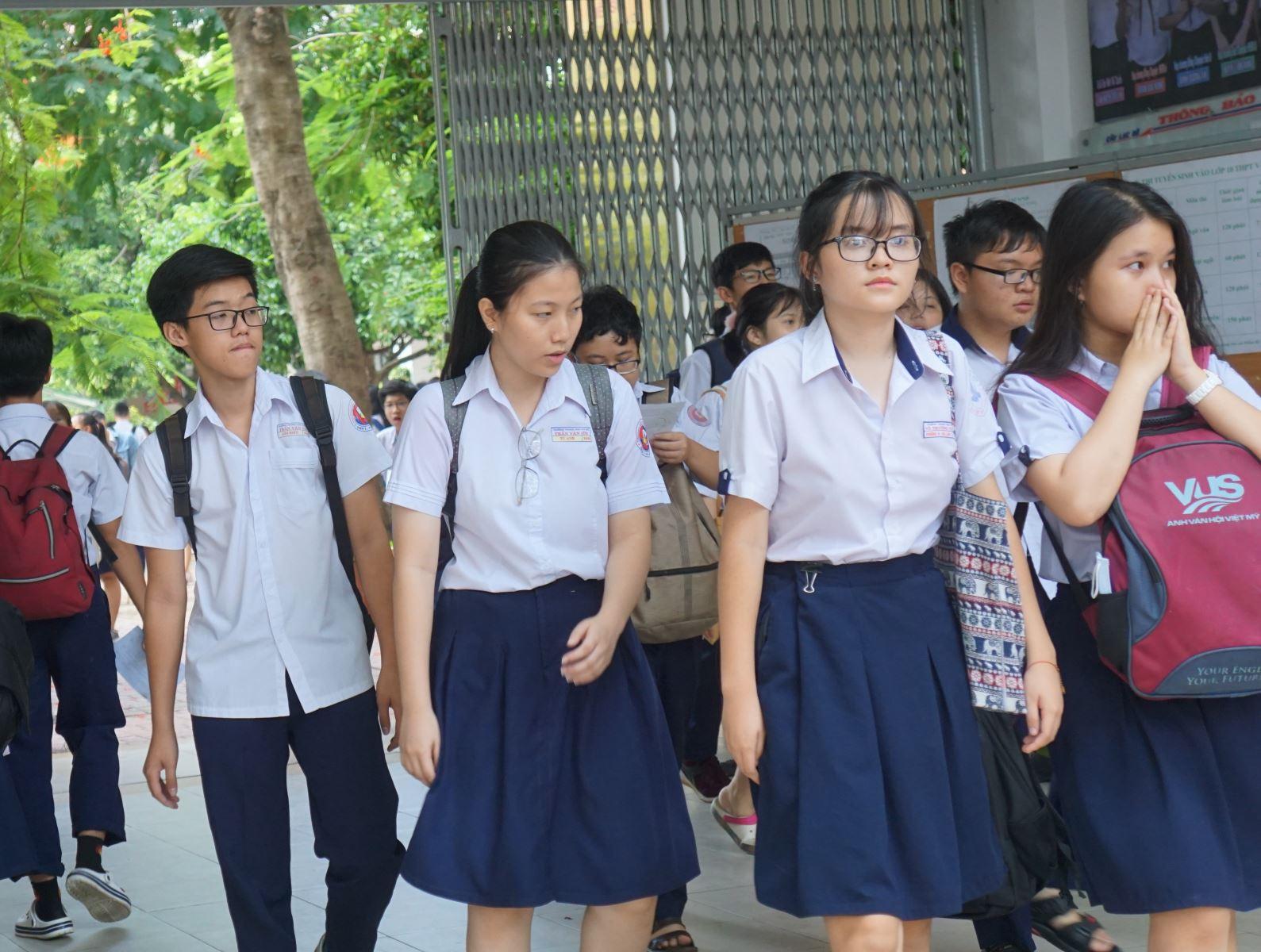 Ngày mai (3/7), TP.HCM công bố điểm chuẩn vào lớp 10 - Ảnh 1