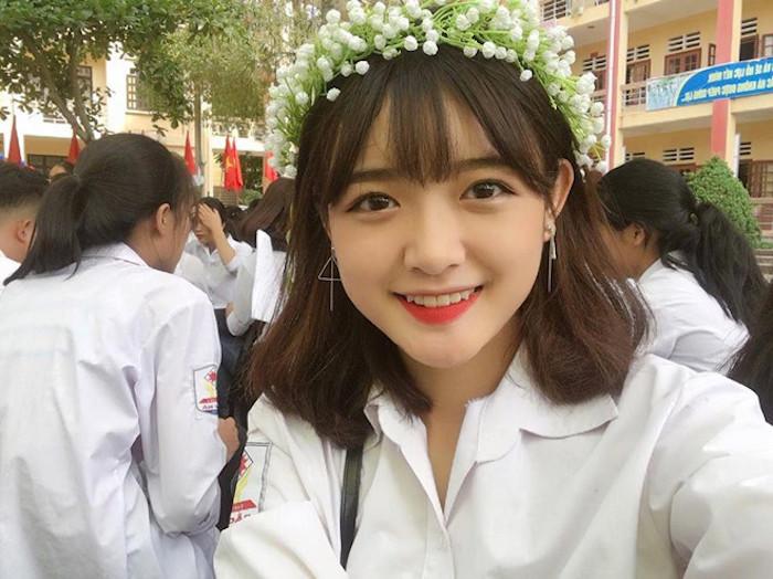 Mê mẩn trước vẻ đẹp thuần khiết của loạt nữ sinh Lào Cai - Ảnh 3