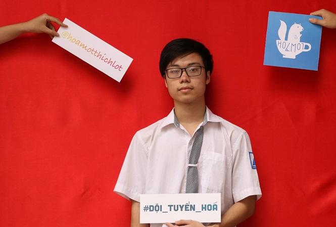 Gặp gỡ nam sinh Việt Nam đầu tiên đạt điểm tuyệt đối bài thi thực hành Olympic Hóa quốc tế - Ảnh 1