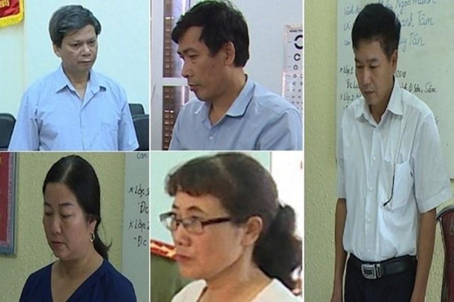 3 bị can khai nhận tiền nâng điểm ở Sơn La bị truy tố tới 10 năm tù - Ảnh 1