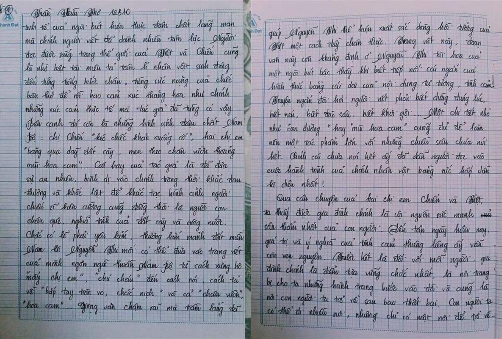 Choáng với bài văn 18 trang của nam sinh khiến cô giáo cũng không nói nên lời - Ảnh 7