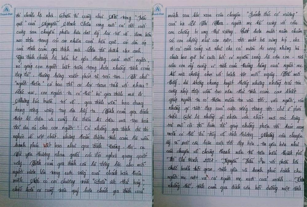 Choáng với bài văn 18 trang của nam sinh khiến cô giáo cũng không nói nên lời - Ảnh 8