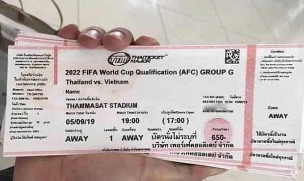 Nóng bỏng tay vé xem trận Việt Nam-Thái Lan tại chợ đen, giá tăng chóng mặt gấp 8 lần - Ảnh 1