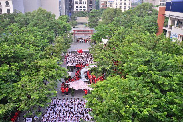Chùm ảnh: Học sinh hân hoan trong ngày khai giảng năm học 2019 - 2020 - Ảnh 3