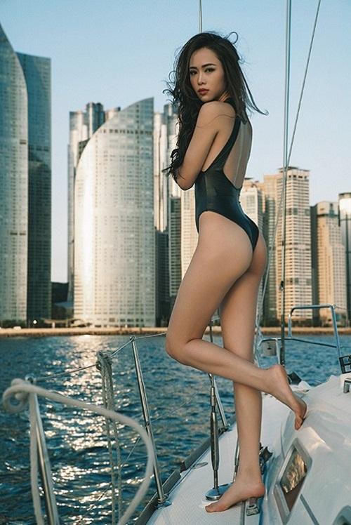 """""""Phát hờn"""" với vẻ đẹp gợi cảm của chân dài được Vũ Khắc Tiệp khen có body đẹp nhất Việt Nam  - Ảnh 4"""
