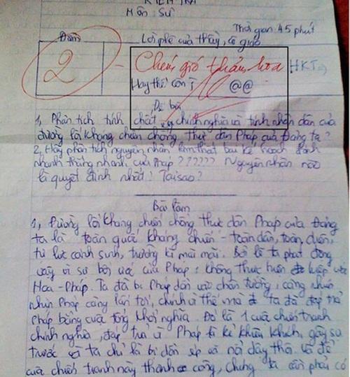 """Làm bài kiểm tra chữ xấu hơn gà bới, nữ sinh nhận lời phê """"bá đạo"""" từ thầy giáo - Ảnh 2"""