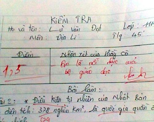 """Làm bài kiểm tra chữ xấu hơn gà bới, nữ sinh nhận lời phê """"bá đạo"""" từ thầy giáo - Ảnh 5"""