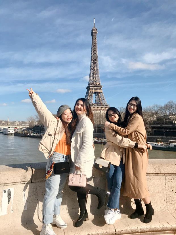 Hội bạn thân nhà người ta: Tốt nghiệp đại học Bách Khoa, 5 năm sau cùng đặt chân đến Pháp du học - Ảnh 2