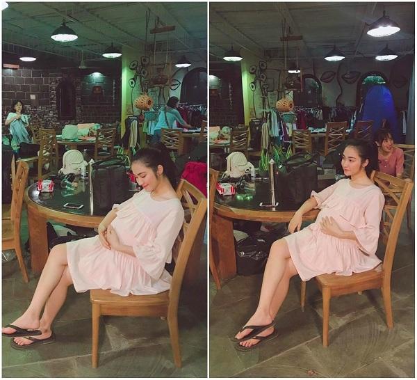 Hòa Minzy than thở một câu, tin đồn mang thai liền 'nóng trở lại' - Ảnh 2