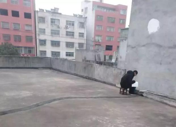 Cậu bé ngày nào cũng lên sân thượng ngồi học bài, biết lý do ai cũng xúc động - Ảnh 1