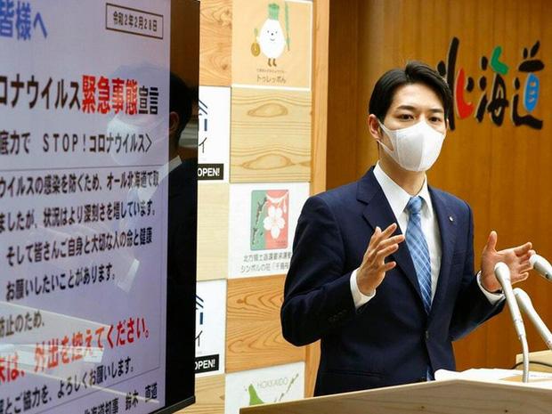 Ngoại hình thanh tú của Thống đốc trẻ nhất Nhật Bản gây sốt mạng xã hội - Ảnh 1