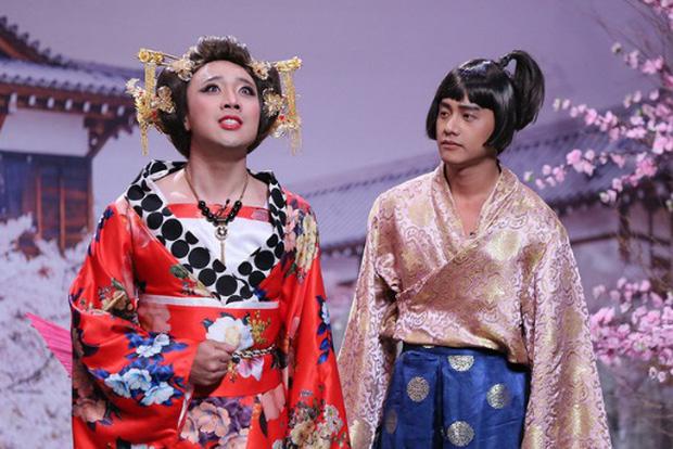 Những màn giả gái xuất thần của loạt sao nam trên sóng truyền hình - Ảnh 2