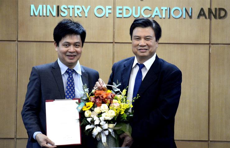 Bổ nhiệm PGS.TS Nguyễn Xuân Thành giữ chức vụ Vụ trưởng Vụ Giáo dục Trung học - Ảnh 1