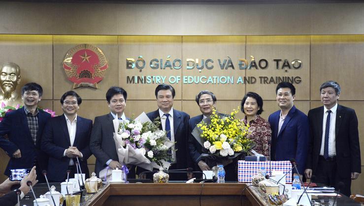 Bổ nhiệm PGS.TS Nguyễn Xuân Thành giữ chức vụ Vụ trưởng Vụ Giáo dục Trung học - Ảnh 2