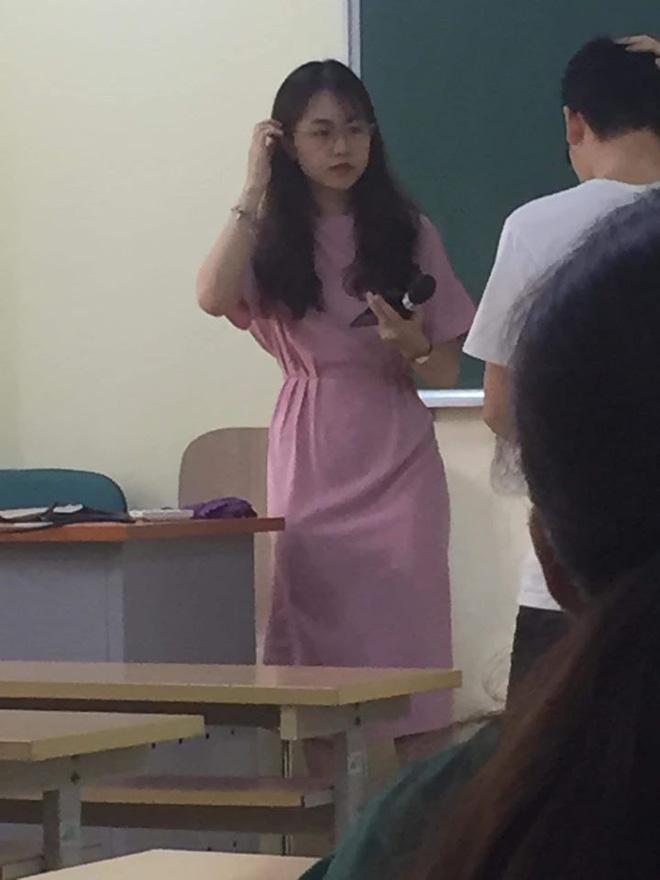 Ảnh chụp lén đẹp xuất sắc của nữ giảng viên trường đại học Kinh tế Quốc dân - Ảnh 2