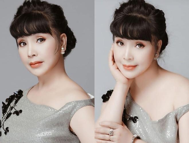 Đã lên chức bà nội, nhan sắc NSND Lan Hương ở tuổi 57 vẫn khiến fan ngưỡng mộ - Ảnh 4
