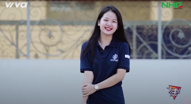 Nhan sắc nữ sinh trường quốc tế học giỏi, hát hay gây sốt trên sóng truyền hình - Ảnh 1