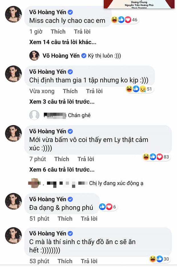 """Rời """"nhà chung"""" chưa lâu, chị đại Võ Hoàng Yến lại gây sốt khi đi hóng drama """"Model Kid"""" - Ảnh 2"""