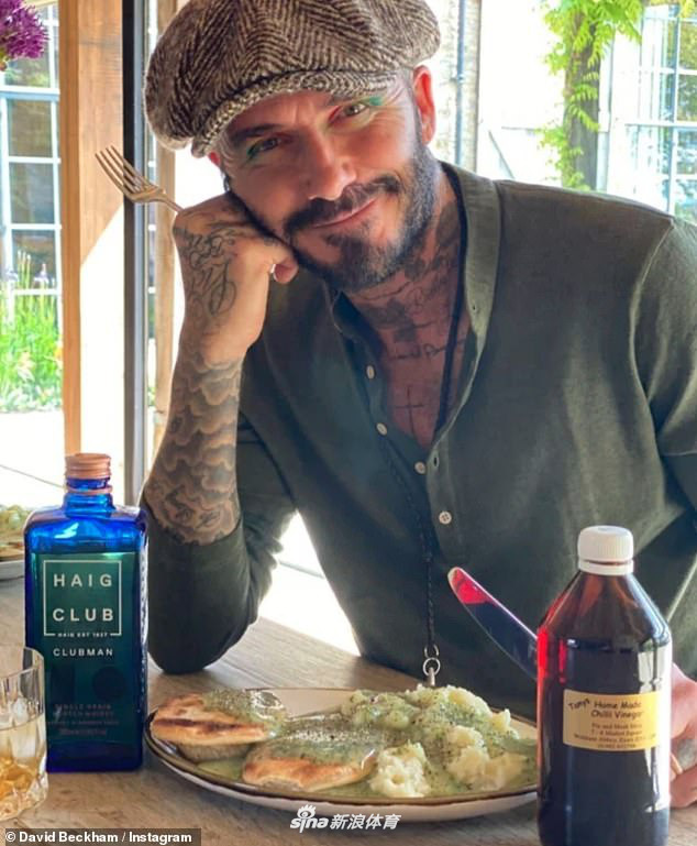 Tượng đài nhan sắc David Beckham gây sốc với mái tóc lưa thưa như sắp hói - Ảnh 3