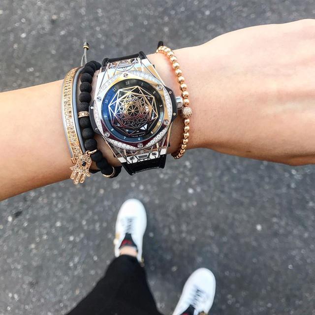 Hoa hậu Kỳ Duyên chứng tỏ đẳng cấp đại gia khi khoe mua đồng hồ Hublot 36.000 USD - Ảnh 4