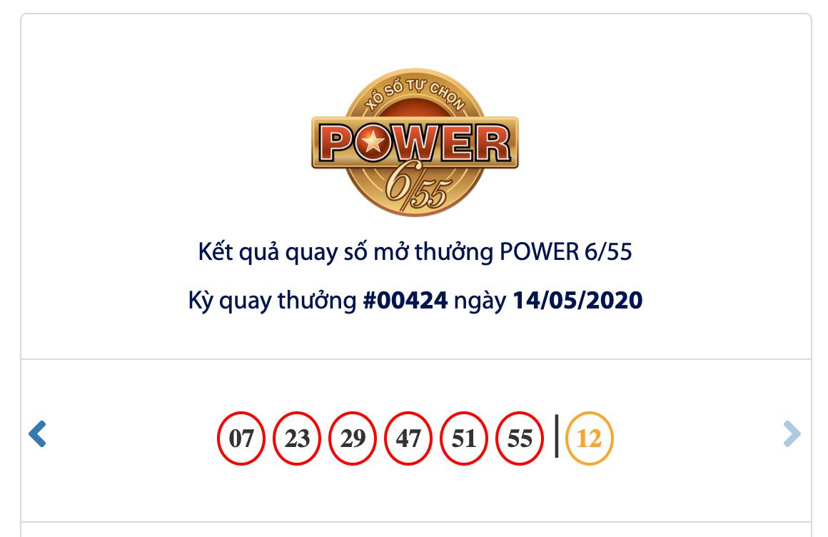 Kết quả xổ số Vietlott hôm nay 16/5/2020: Tìm chủ nhân cho giải Jackpot 31 tỷ đồng - Ảnh 1