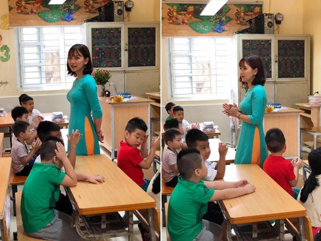 Cận cảnh nhan sắc nữ giáo viên tiểu học xinh như hotgirl gây sốt trên mạng xã hội - Ảnh 3